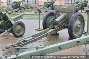 76-мм полковая пушка образца 1927 года 52-П-353 в музее отечественной военной истории в Падиково
