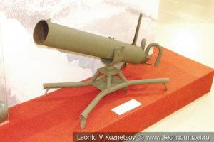 Ампуломёт образца 1941 года в музее отечественной военной истории в Падиково
