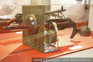 Ручной пулемёт системы Максима-Токарева образца 1925 года в переносном варианте в музее отечественной военной истории в Падиково