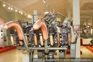 Счетверённая зенитная установка 4М образца 1931 года под пулемёт системы Максима в музее отечественной военной истории в Падиково