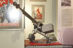 12,7-мм станковый пулемёт ДШК на морской турельной установке МТУ-2 в музее отечественной военной истории в Падиково