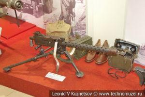 7,62-мм станковый пулемёт Browning 1919A4 в музее отечественной военной истории в Падиково