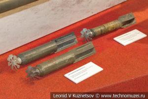 2,5-кг осколочные авиабомбы АО-2,5сч и АО-2,5-2 в музее отечественной военной истории в Падиково