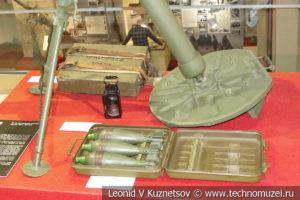 82-мм батальонный миномёт образца 1937 года БМ-37 (52-М-832Ш) в музее отечественной военной истории в Падиково