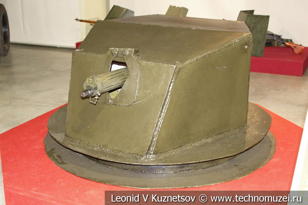 Ижорская башня в музее отечественной военной истории в Падиково