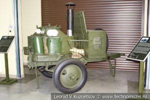 Прицепная полевая кухня КП-42 1942 года в музее отечественной военной истории в Падиково