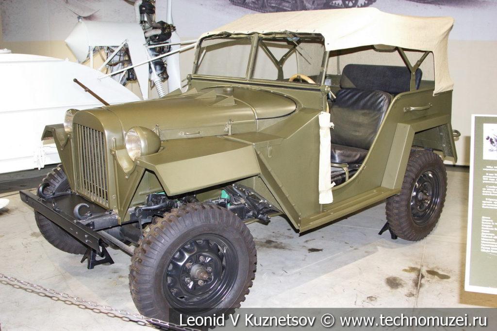 Легковой полноприводный автомобиль ГАЗ-67 1943 года