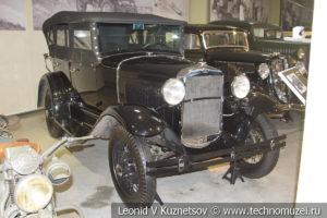 Легковой автомобиль ГАЗ-А 1932 года в музее отечественной военной истории в Падиково