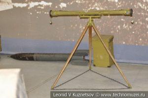 Оптические приборы для наведения и корректировки огня в музее отечественной военной истории в Падиково