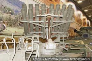 140-мм реактивная система залпового огня БМ-14 8У32 1952 года в музее отечественной военной истории в Падиково