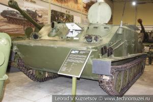 БТР-50 бронетранспортер 1954 года в музее отечественной военной истории в Падиково