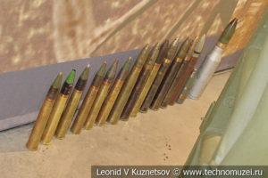 Боеприпасы в музее отечественной военной истории в Падиково