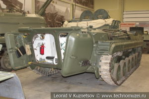 БРМ-1К боевая разведывательная машина 1973 года в музее отечественной военной истории в Падиково
