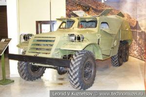 Бронетранспортёр БТР-152 в музее отечественной военной истории в Падиково
