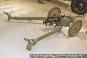 14,5-мм пехотный пулемёт Владимирова ПКП в музее отечественной военной истории в Падиково