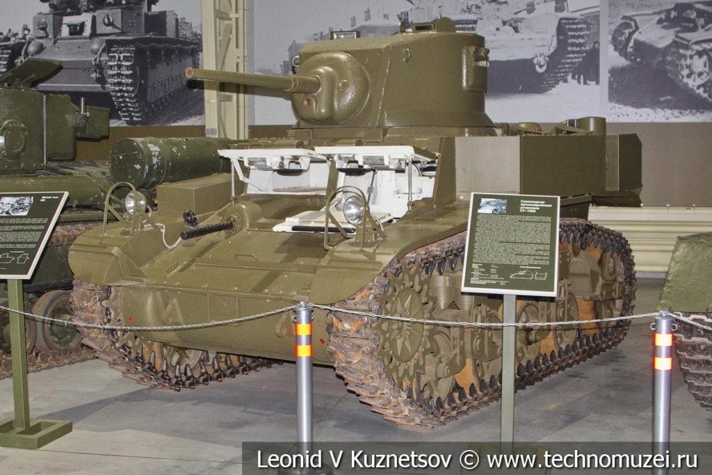 M3 Stuart лёгкий танк 1941 года в музее отечественной военной истории в Падиково