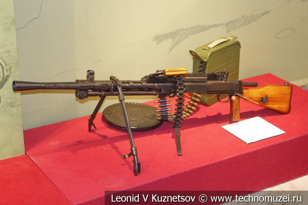 7,62-мм ротный пулемёт РП-46 образца 1946 года в музее отечественной военной истории в Падиково