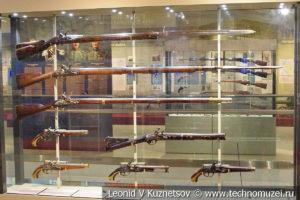 Огнестрельное оружие конца XVII - начала XIX века в музее отечественной военной истории в Падиково