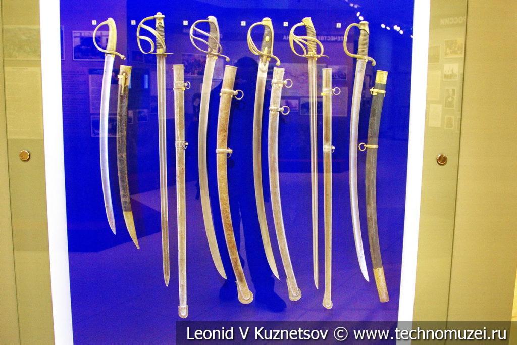 Холодное оружие конца XVII - начала XIX века в музее отечественной военной истории в Падиково