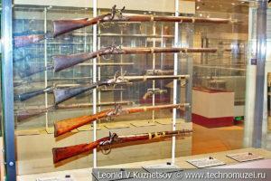 Огнестрельное оружие середины XIX века в музее отечественной военной истории в Падиково