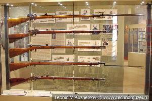 Огнестрельное оружие второй половины XIX века в музее отечественной военной истории в Падиково
