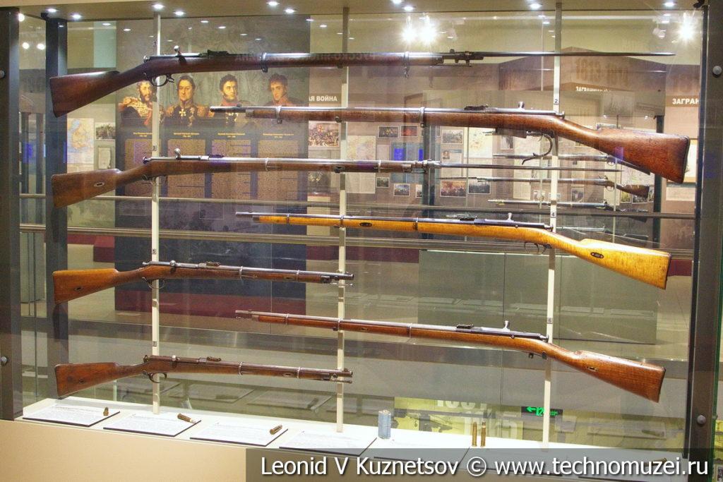 Огнестрельное оружие периода Русско-японской войны в музее отечественной военной истории в Падиково