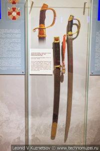 Холодное оружие периода Русско-японской войны в музее отечественной военной истории в Падиково