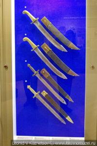 Холодное оружие второй половины XIX века в музее отечественной военной истории в Падиково