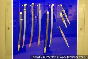 Холодное оружие периода Первой Мировой войны в музее отечественной военной истории в Падиково