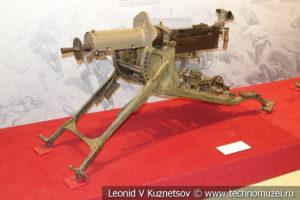 Германский 7,92-мм станковый пулемёт MG-08 в музее отечественной военной истории в Падиково