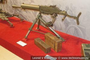 Австро-Венгерский 8-мм станковый пулемёт Schwarzlose M1907/12 в музее отечественной военной истории в Падиково
