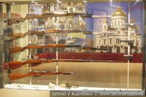 Оружие Красной армии 1930-х годов в музее отечественной военной истории в Падиково