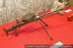 7,62-мм танковый пулемёт Дегтярёва ДТ-29 образца 1929 года в музее отечественной военной истории в Падиково
