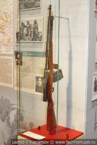 Первый в мире автомат конструкции Фёдорова образца 1916 года в музее отечественной военной истории в Падиково