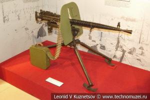 7,-62-мм станковый пулемёт Дегтярёва ДС-39 образца 1939 года в музее отечественной военной истории в Падиково