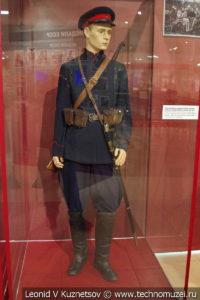 Парадная форма красноармейца Донских казачьих кавалерийских частей в музее отечественной военной истории в Падиково