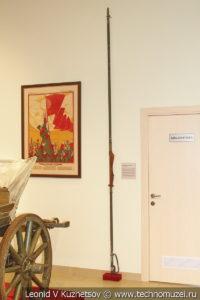 Кавалерийская пика середины 1930-х годов в музее отечественной военной истории в Падиково