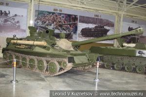 85-мм авиадесантная САУ АСУ-85 1959 года в музее отечественной военной истории в Падиково