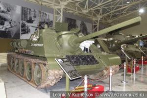 85-мм средняя САУ СУ-85 1943 года в музее отечественной военной истории в Падиково