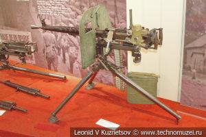 7,62-мм станковый пулемёт Дегтярёва ДС-31 образца 1931 года раннего типа в музее отечественной военной истории в Падиково