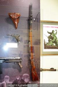 Карабин Mauser 98k в музее отечественной военной истории в Падиково