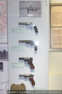 Осветительно-сигнальные пистолеты РККА в музее отечественной военной истории в Падиково