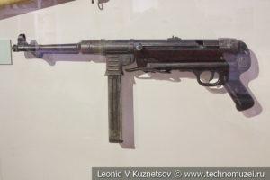 Автомат MP-40 в музее отечественной военной истории в Падиково